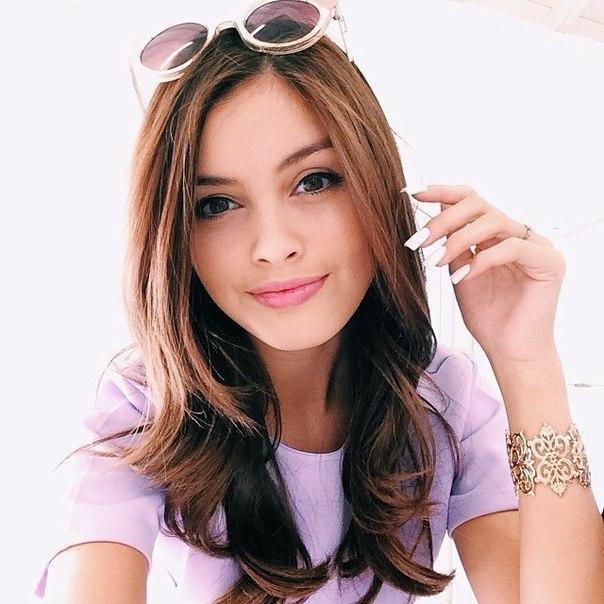 Красивые девушки, очень прелестные девушки - смотреть фото 15