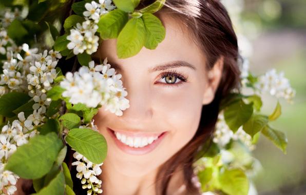 Подборка девушек с красивой улыбкой и глазами картинки скачать 10