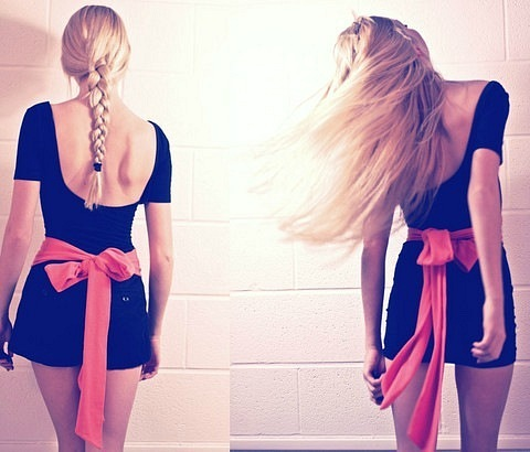 Смотреть фото красивых девушек со спины - подборка 2