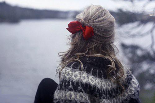 Фото девушек зимой со спины 13