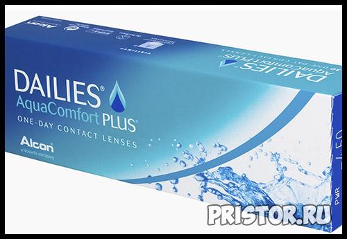 DAILIES Aqua Comfort Plus линзы