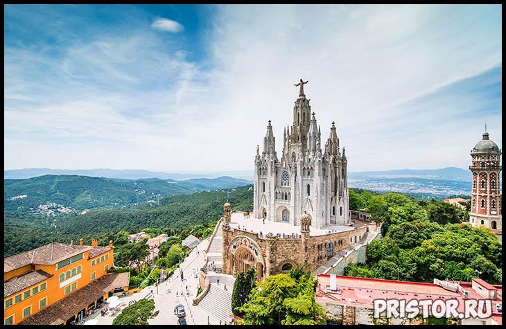 Барселона с высоты птичьего полета - фото 11