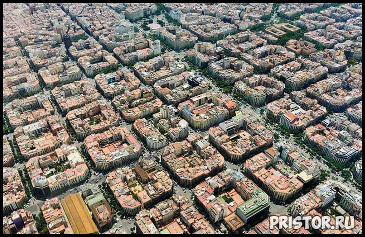 Барселона с высоты птичьего полета - фото 12