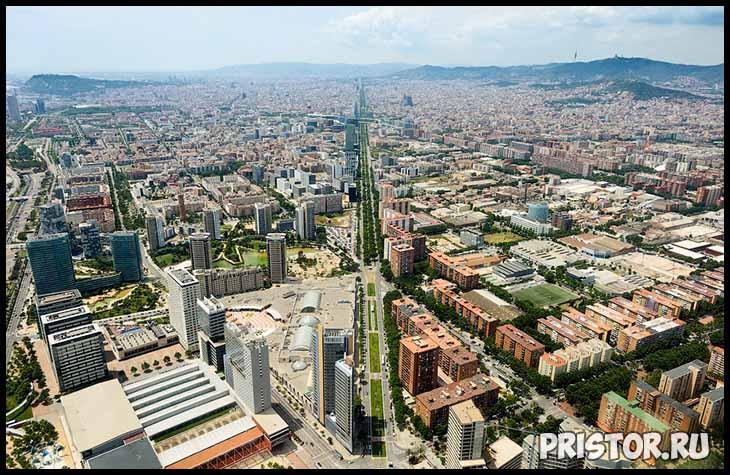 Барселона с высоты птичьего полета - фото 2