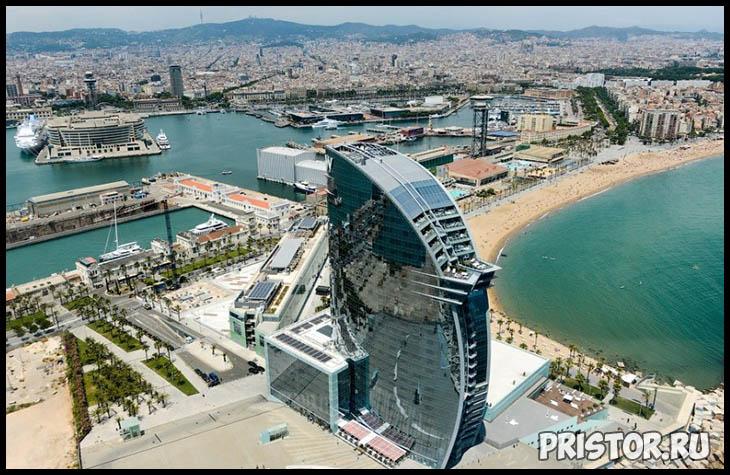 Барселона с высоты птичьего полета - фото 6
