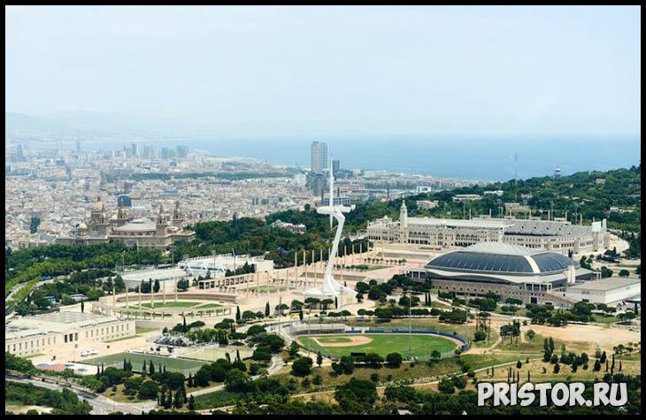 Барселона с высоты птичьего полета - фото 8