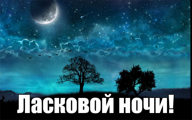 Доброй ночи картинки красивые 7
