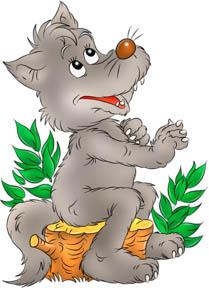 Картинка волка для детей, прикольные картинки волков - смотреть 1