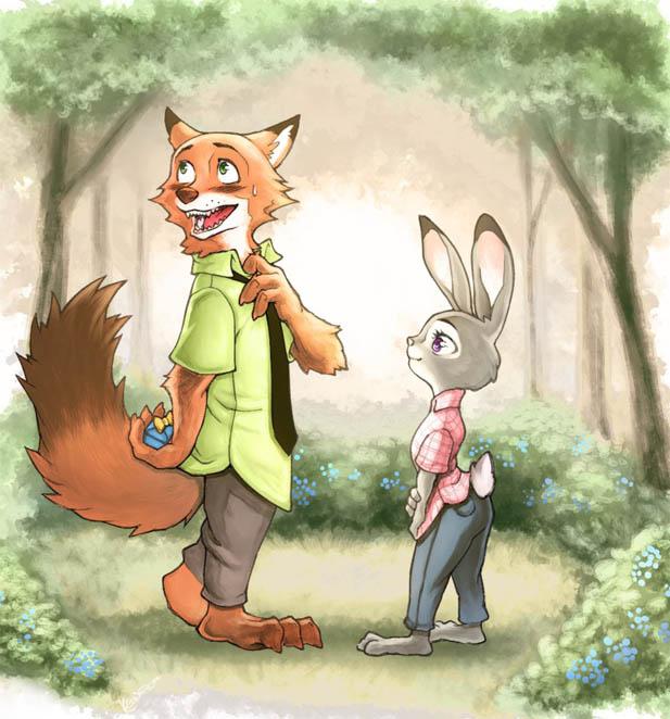 Картинки Зверополис Ник и Джуди - смотреть бесплатно, подборка