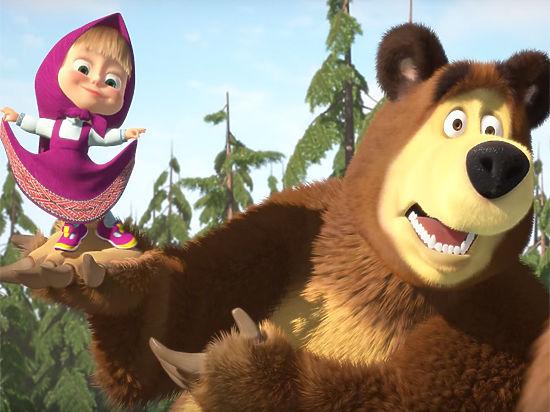 Картинки Маша и медведь для детей - прикольные и красивые 10