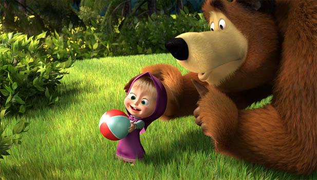 Картинки Маша и медведь для детей - прикольные и красивые 13