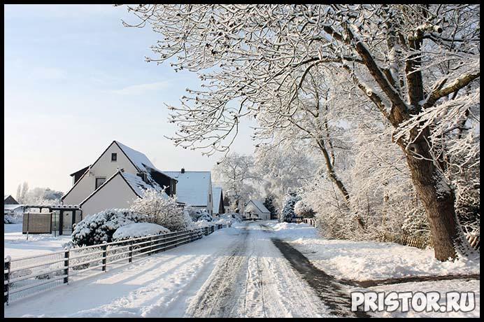 Красивые фото зимней природы, зима - красивые фото природы 2