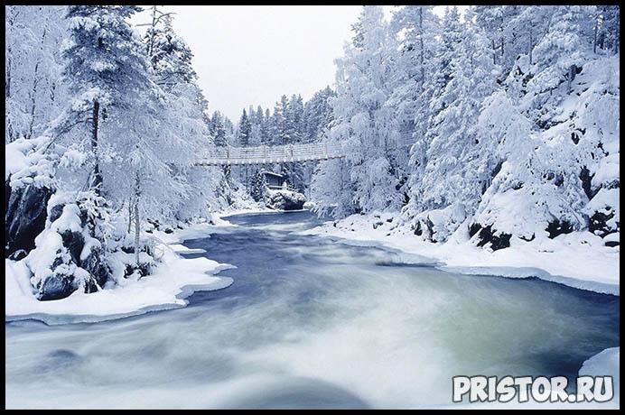 Красивые фото зимней природы, зима - красивые фото природы 6
