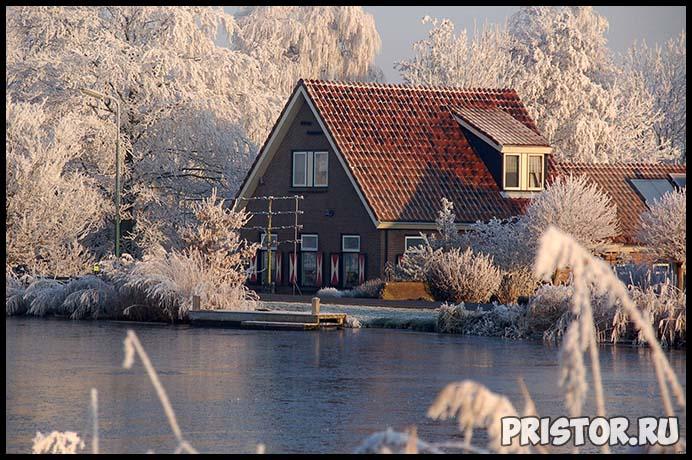 Красивые фото зимней природы, зима - красивые фото природы 8