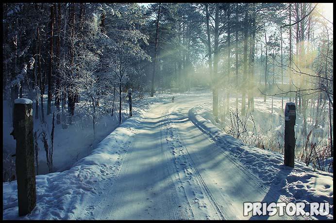 Красивые фото зимней природы, зима - красивые фото природы 9