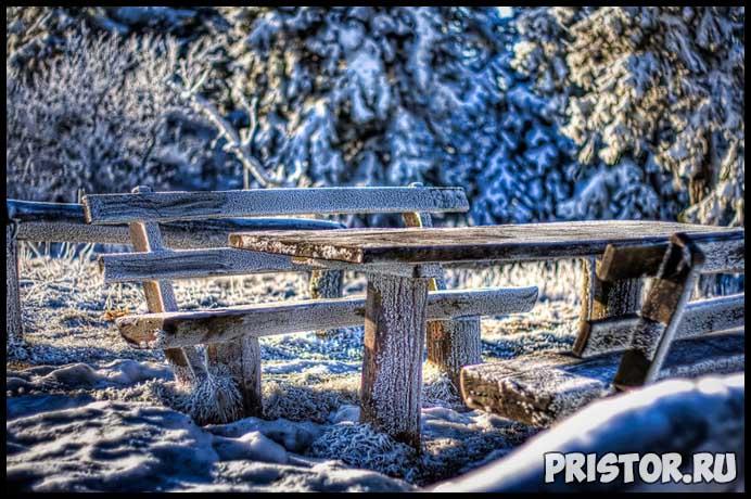 Красивые фото зимней природы, зима - красивые фото природы