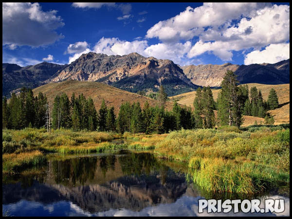 Красивые фото природы России, фото - пейзажи природы России 4