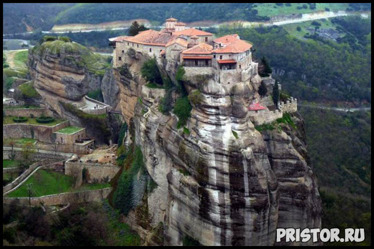 Монастырский комплекс Метеоры, Греция