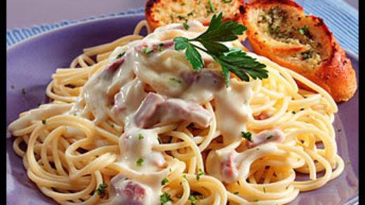 Паста Карбонара рецепт с беконом и сливками - пошаговый рецепт с фото 5