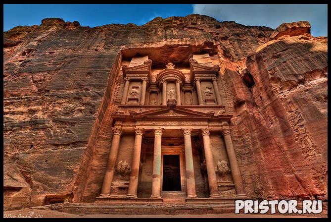 Петра в Иордании фото