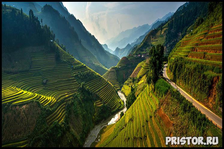 Рисовые террасы в Му Кан Чай, Вьетнам
