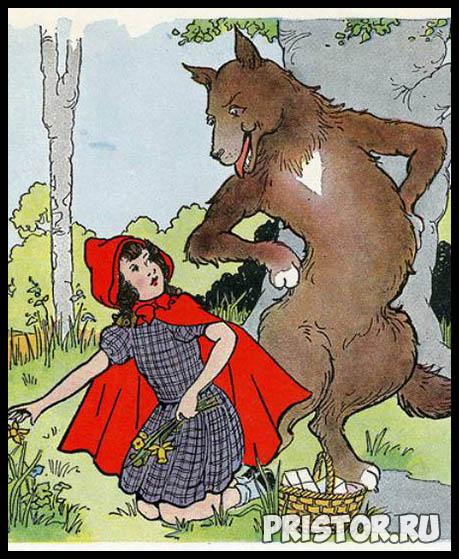 Сказка про Красную Шапочку - читать бесплатно, онлайн, текст сказки 3
