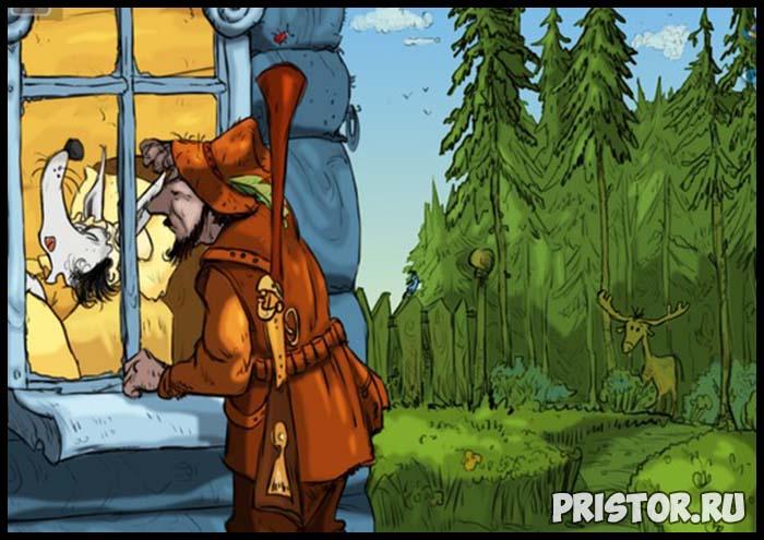 Сказка про Красную Шапочку - читать бесплатно, онлайн, текст сказки 6
