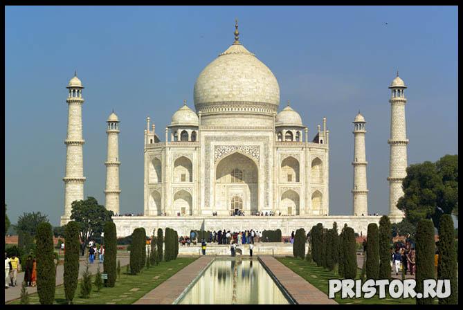 Тадж-Махал в Индии фото