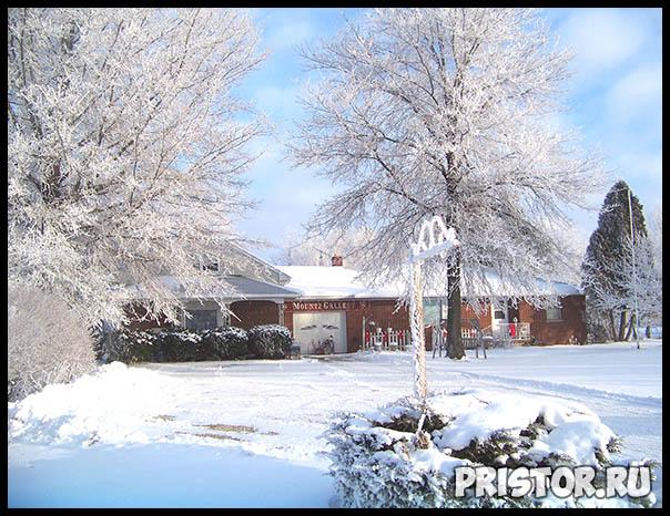 Фото снега и льда в природе, красивые фото льда и снега - природа 10