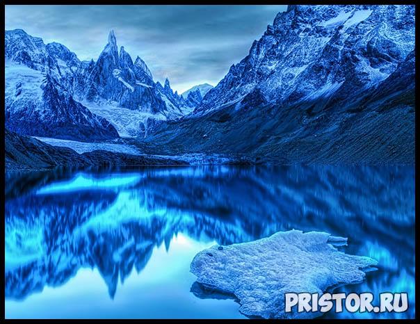 Фото снега и льда в природе, красивые фото льда и снега - природа 3