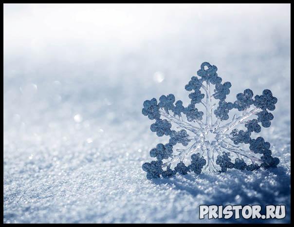 Фото снега и льда в природе, красивые фото льда и снега - природа 4