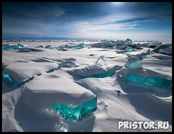 Фото снега и льда в природе, красивые фото льда и снега - природа 6
