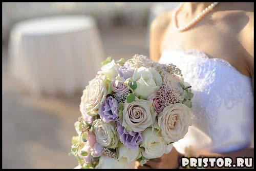 Красивые свадебные букеты для невесты - фото 9