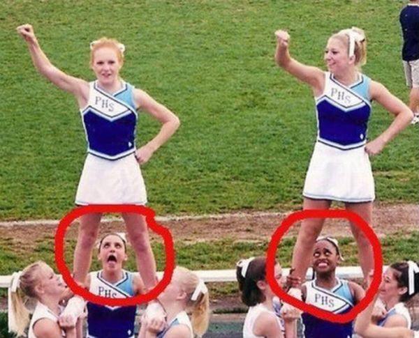 Очень смешные фото приколы про девушек 5