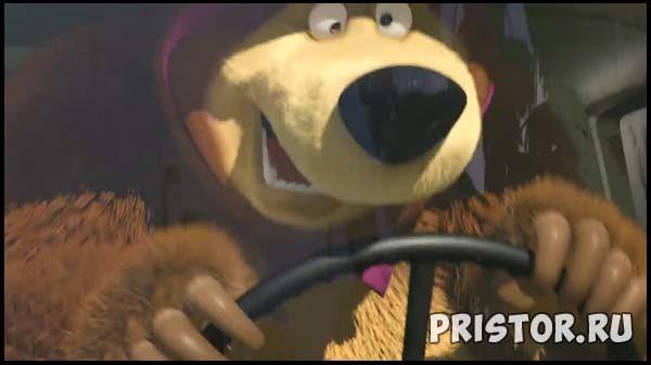 Маша и Медведь - картинки из мультфильма, прикольные, смешные 5