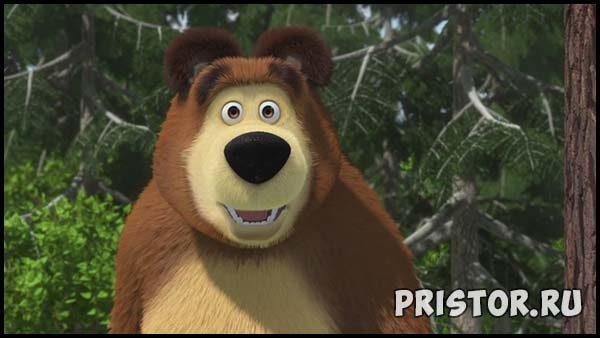 Маша и Медведь - картинки из мультфильма, прикольные, смешные 2