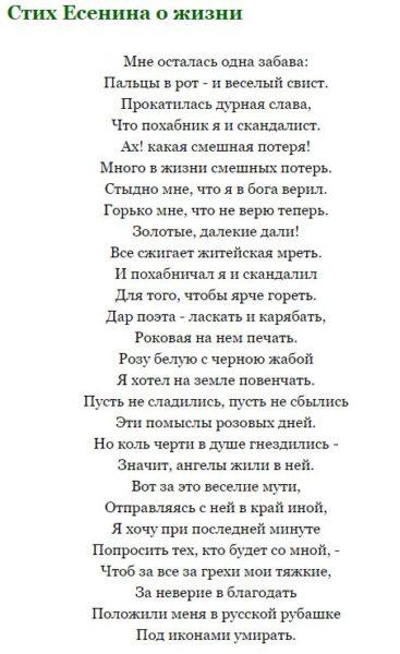 Стих про жизнь со смыслом короткие, красивые стихи про жизнь - читать бесплатно 6