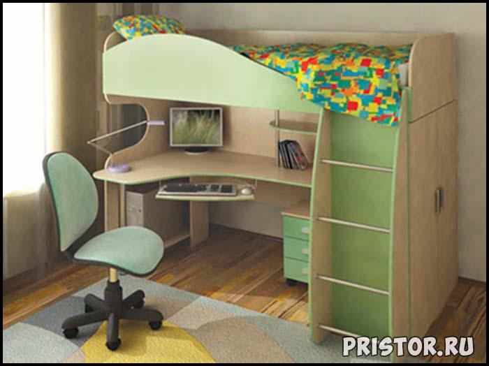 Дизайн однокомнатной квартиры с ребенком - интересные варианты 2