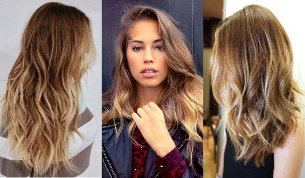 Покраска волос модные