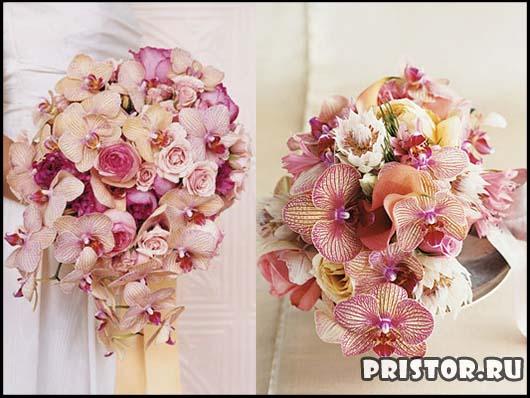 Красивые свадебные букеты для невесты - фото 8