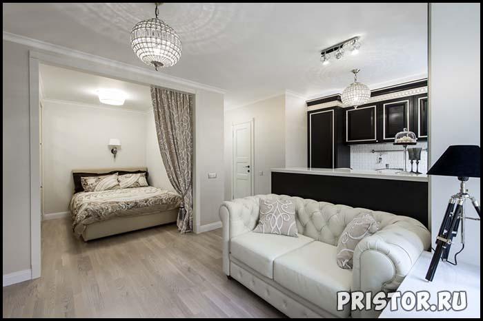 Дизайн однокомнатной квартиры с ребенком - интересные варианты 4
