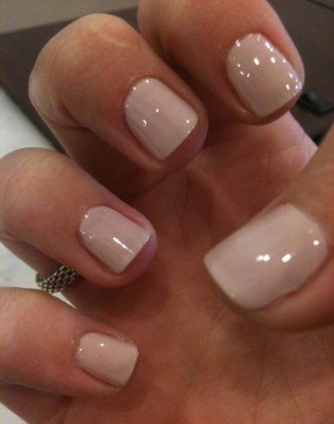 Идея маникюра на короткие ногти фото - красивый дизайн ногтей 9
