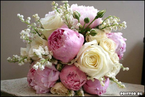 Красивые свадебные букеты для невесты - фото 6