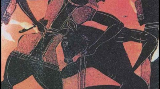 """Одним из самых известных мифов - является миф о Тесее и Минотавре в котором рассказывается о подвигах и трагической судьбе Тесея, а также о похождении названия Эгейского моря. Тесей сын афинского царя Эгея, он защищал людей от разбойников и хищных зверей. Все свое детство мальчик провел с матерью трезенской царевной Эфрой. Отец жил в дали от своей любимой и ребенка, так как опасался пакостей и подвохов со стороны своих племянников, которые претендовали на его место и тоже стремились к власти. Перед расставанием со своей женой, Эгей спрятал свой меч и сандалии под камнем со словами: """"Когда мой сын вырастет и сможет поднять этот камень и забрать вещи, тогда расскажи ему кто его отец."""" Достигнув шестнадцати лет Тесей отодвигает камень, забирает все свои вещи и направляется к отцу в Афины. Очень большое количество подвигов совершает он по дороге к отцу. Эгей узнает своего сына по мечу. Раз в девять лет афиняне посылают для Минотавра на остров Крит семь юношей и девушек. Узнав это, на остров едет Тесей и убивает там Минотавра голыми руками, пока тот спал. Совершает это он в подземном лабиринте, откуда в последствии не может никак выбраться. Но ему дала путеводную нить Ариадна - дочка критского царя. Вспомнив про эту нить Тесей с легкостью находит выход из лабиринта. Тогда Тесей похитив Ариадну и уплывает в Грецию. Но судьба разлучает их, возможно, это случилось по воле Посейдона. Расстроенный Тессей плывя на своем корабле забывает сменить флаг с черного на белый (черный флаг сулит смерть Тесея). Расстроенный отец, увидев на корабле черный флаг, понимает, что его сын погиб в смертоносной схватке с Минотавром и бросается в море. С тех пор, моря стали называть Эгейским."""