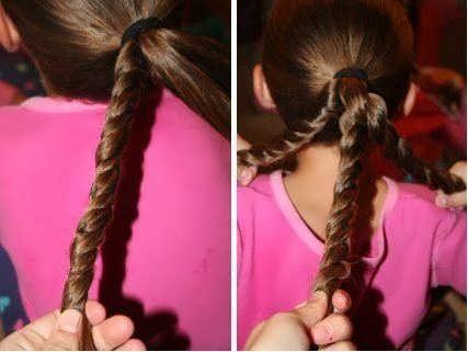 Легкие прически для девочек - быстрые и простые варианты 5