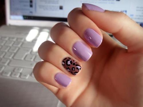 Идея маникюра на короткие ногти фото - красивый дизайн ногтей 7