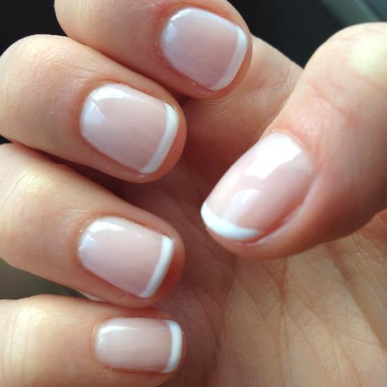 Идея маникюра на короткие ногти фото - красивый дизайн ногтей 5