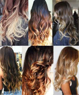 Амбре окрашивание волос - фото на длинные волосы, обзор 4