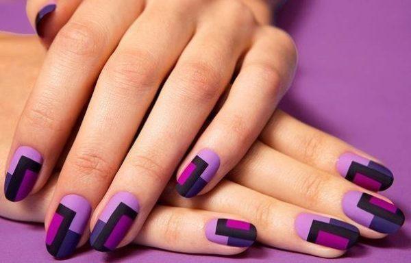 Идея маникюра на короткие ногти фото - красивый дизайн ногтей 4