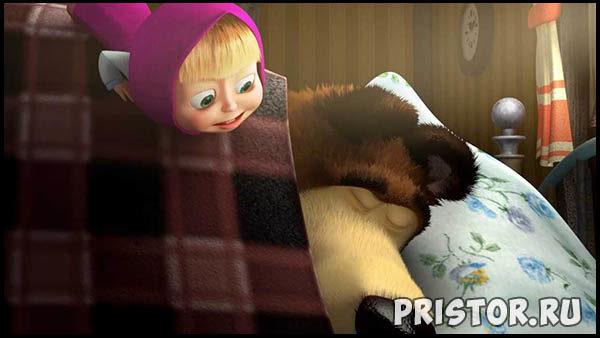 Маша и Медведь - картинки из мультфильма, прикольные, смешные 11